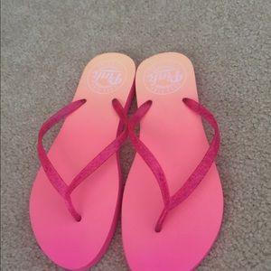 "Victoria Secret ""Pink"" flip flops"